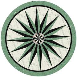 Green Stone Medallion