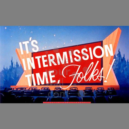 Drive-in Movie Intermission Mural