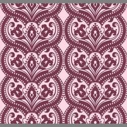 Purple Surrender velvet flocked wallpaper: VCC0605