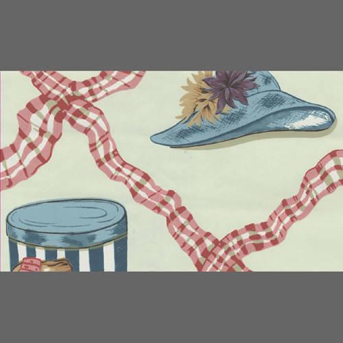 Hats and ribbon wallpaper: 518373