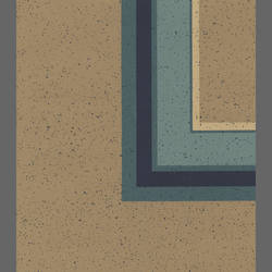 Beige and blue square contemporary wallpaper: 511602