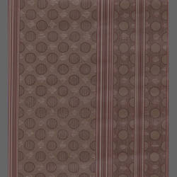 Contemporary striped wallpaper with small circles:  517205