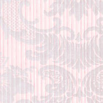 Pearlescent Floral Damask screen printed wallpaper: VCC0422