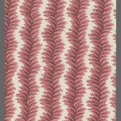 Traditional curvy striped leaf wallcovering: 516904