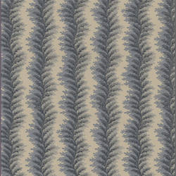 Green and grey curved leafy stripes: 516905