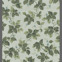 Traditional green leaf wallcovering: 516916