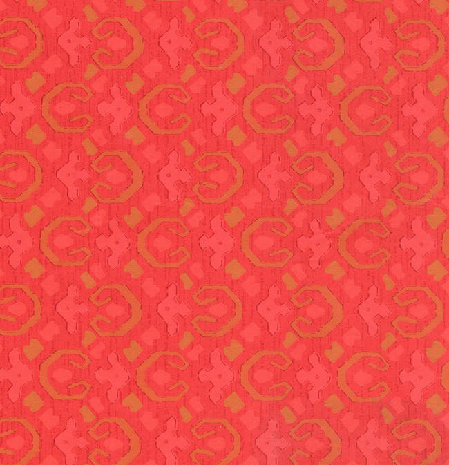 Traditional red wallcovering: 519673
