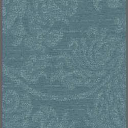 Blue damask floral wallpaper: 540043