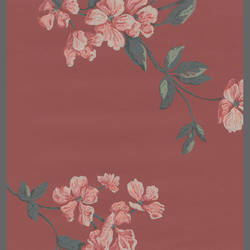 Plum and Pink Floral wallpaper: 540872