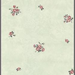 Traditional floral leaf wallpaper: 547452