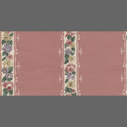 Traditional striped pink floral: 572771