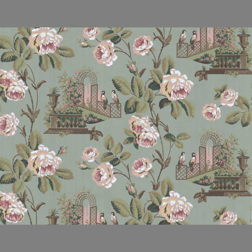 Pink Peony Floral wallpaper