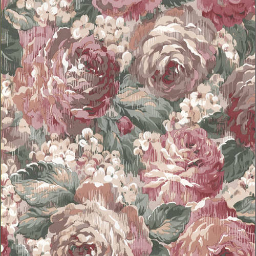 Traditional floral wallcovering: hc2092