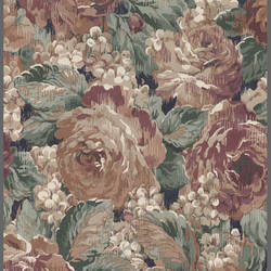 Traditional floral wallpaper with leaves: ATHC2093