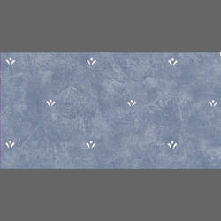 Blue & White Faux Finish Dotted Floral wallcovering:  jw37132