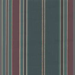 Striped Burgundy and Blue traditional wallcovering: RS2061