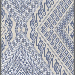 Early Americana harlequin wallpaper: 520540