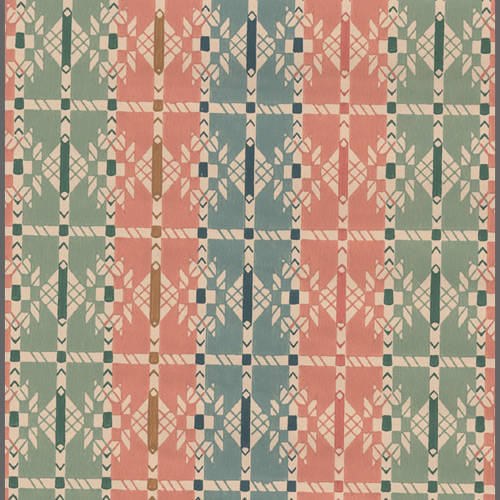 Early Americana patterned wallpaper: 520570