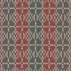 Ethnic early Americana wallpaper