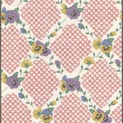 Traditional floral leaf harlequin wallpaper: 543300