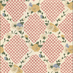 Traditional harlequin floral wallpaper: 543303