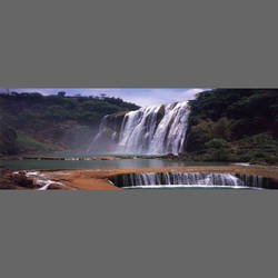 Tropical Waterfalls mural wallpaper, 4 part: 1423