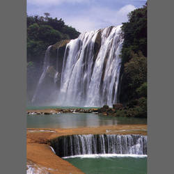 Tropical Waterfalls mural wallpaper, 4 part: 1463