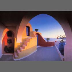 Santorini Archway