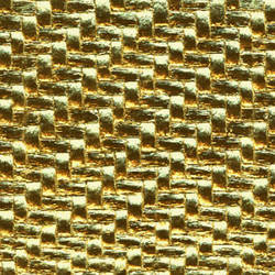 Gold textured metal wallcovering: weLL208