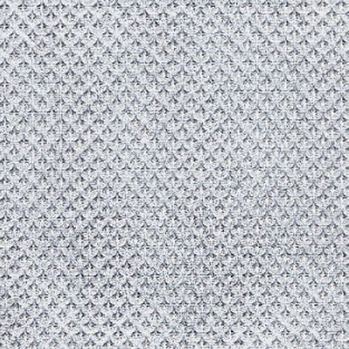 Silver textured metal wallcovering: weLL210