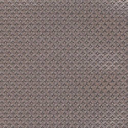 Gray embossed metal wallcovering: weLL211