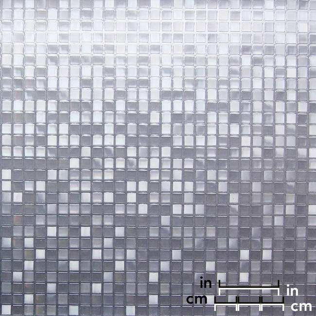 Small Square Etched Transluscent Window Film