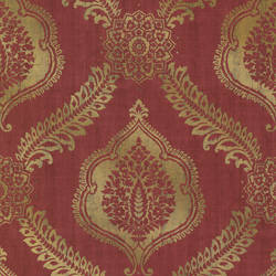 Zoraya Burgundy Damask 2618-21301