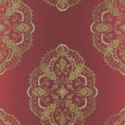 Mirador Burgundy Global Medallion 2618-21330