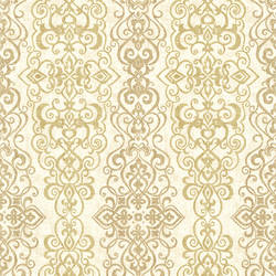 Mexuar Gold Filigree Stripe 2618-21342