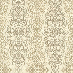 Mexuar Taupe Filigree Stripe 2618-21344