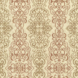 Mexuar Copper Filigree Stripe 2618-21345