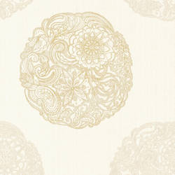 Cordova Champagne Medallion 2618-21354
