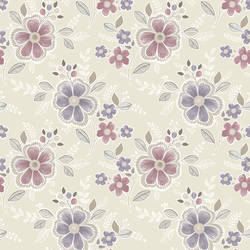 Chloe Purple Floral 2657-22203