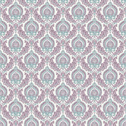Lulu Plum Damask 2657-22231