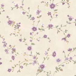 Delphine Plum Floral Trail 2657-22250