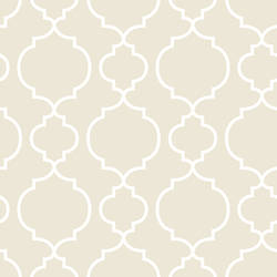 Desiree Taupe Quatrefoil 2657-22260