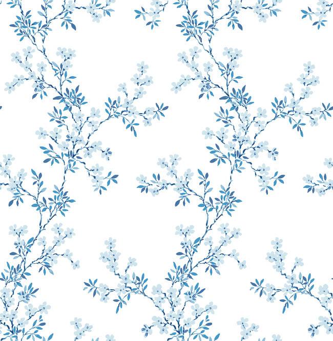Claire Blue Floral Trail 2657-22261