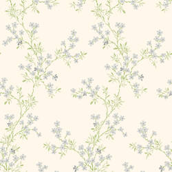 Claire Silver Floral Trail 2657-22262