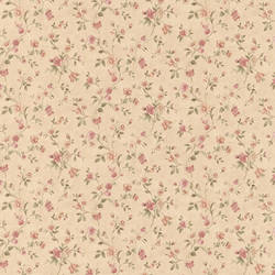 Cindy Beige Floral Trail 413-66306