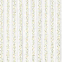 Emily blue Floral Stripe 413-66333