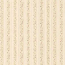 Emily Green Floral Stripe 413-66334
