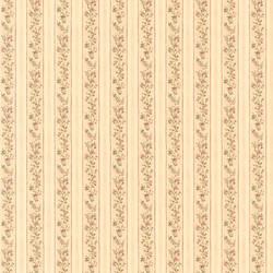 Emily Beige Floral Stripe 413-66335