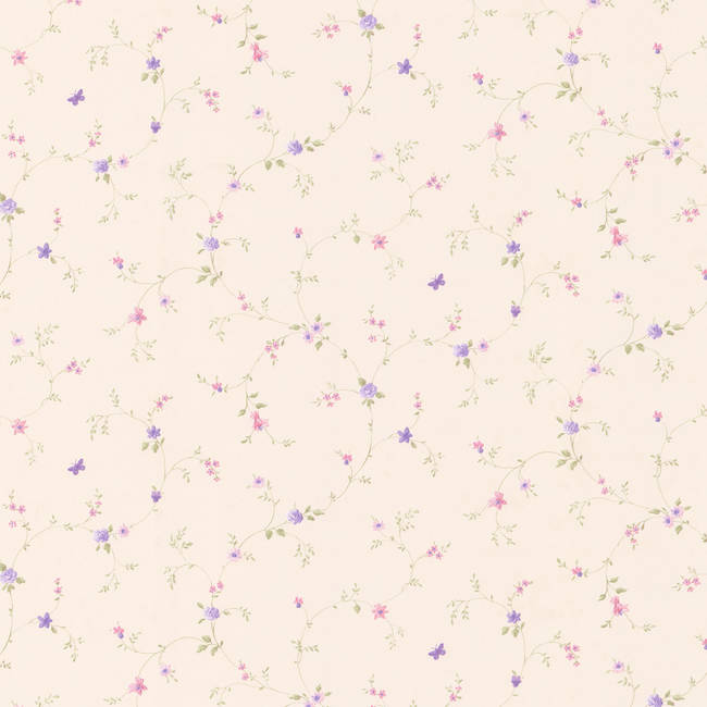 Rebecca purple Floral Trail 413-66342