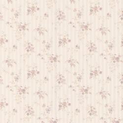 Laurie lavender Floral Stripe 413-66373